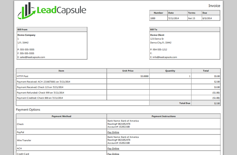 Ultrablogus  Mesmerizing Invoicing  Features  Lead Capsule With Fascinating Invoice Example Send Invoice With Appealing How Do You Write An Invoice Also Expense Invoice Template In Addition Professional Invoices Template And Microsoft Invoice Software As Well As Usps Invoice Number Additionally Commercial Invoice Pdf Fillable From Leadcapsulecom With Ultrablogus  Fascinating Invoicing  Features  Lead Capsule With Appealing Invoice Example Send Invoice And Mesmerizing How Do You Write An Invoice Also Expense Invoice Template In Addition Professional Invoices Template From Leadcapsulecom