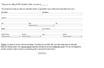 Lead Generation - Sample CRM Form